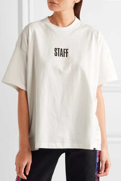 And i 39 m getting madder for Vetements basic staff t shirt