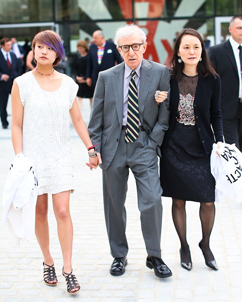 soon yi woody and daughter